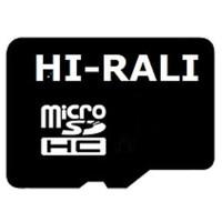 Карта памяти Hi-Rali microSD 4gb (4cl)