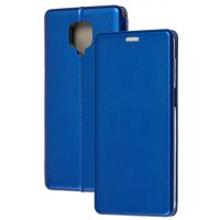 Книга Premium Xiaomi Redmi Note 9s/Note 9 Pro (синий)