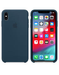 Чохол Silicone Case iPhone Xs Max (морський синій)