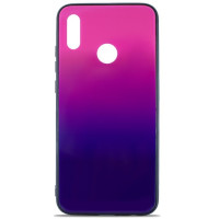 Чехол Glass Case Gradient Huawei Y6 2019 (Purple Barca)