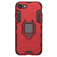 Чехол Armor + подставка iPhone 7/8 (красный)