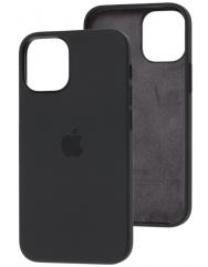 Чехол Silicone Case Iphone 12 Mini (черный)