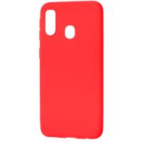 Чехол Soft Touch Xiaomi Redmi 7 (красный)