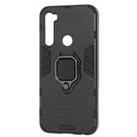 Чехол Armor + подставка Xiaomi Redmi Note 8 (черный)
