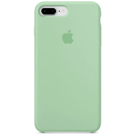 Чехол Silicone Case iPhone 7/8 Plus (мятный)