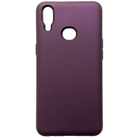 Чехол Silky Samsung Galaxy A10s (сиреневый)