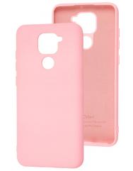 Чехол Silicone Case Xiaomi Redmi Note 9 (розовый)