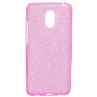 Силиконовый чехол Shine Meizu M6 (розовый)
