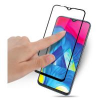 Стекло Samsung Galaxy M10 (5D Black) 0.33mm