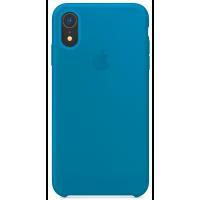 Чехол Silicone Case iPhone XR (светло-синий)