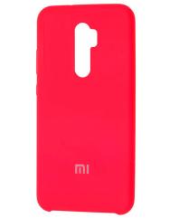 Чехол Silky Xiaomi Redmi Note 8 Pro (ярко-розовый)
