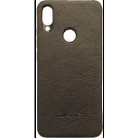 Чехол AMG кожа Xiaomi Redmi Note 7 (черный)
