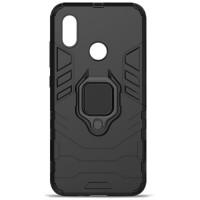Чехол Armor + подставка Xiaomi Mi A2 Lite (черный)