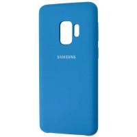 Чехол Silky Samsung Galaxy S9 (синий)