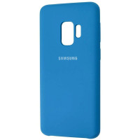 Чехол Silky Samsung Galaxy S9 (темно-синий)