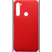 Чехол усиленный матовый Xiaomi Redmi Note 8 (красный)