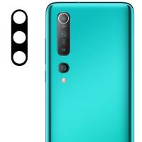 Защитное стекло на камеру Xiaomi Mi 10 / Mi 10 Pro (Black) 0.18mm