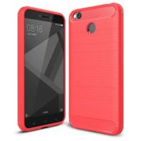 Чехол Carbon Xiaomi Redmi Note 5A (красный)