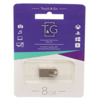 Флешка USB T&G 106 Metal series 8Gb (Silver)