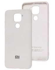 Чехол Silicone Case Xiaomi Redmi Note 9 (серый)
