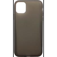 Чехол силиконовый Latex матовый iPhone 11 Pro (черный)