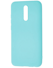 Чехол Silicone Case Lite Xiaomi Redmi 8 (голубой)