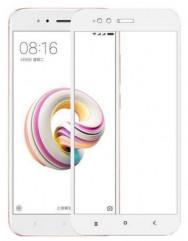Захисне скло для Xiaomi Mi A1/Mi 5x (3D White) 0.33mm