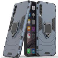 Чехол Armor + подставка Samsung Galaxy A50 / A50s / A30s (серый)