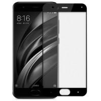Защитное стекло для Xiaomi Mi6 (3D black) 0.33mm