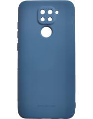 Чохол Molan Xiaomi Redmi Note 9 (темно-синій)