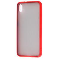 Чехол LikGus Maxshield матовый Xiaomi Redmi 7a (красный)