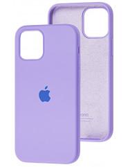Чохол Silicone Case Iphone 12 /12 Pro (лавандовий)