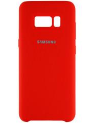 Чехол Silicone Case Samsung Galaxy S8+ (красный)