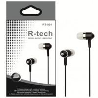 Вакуумные наушники R-Tech RT-901 (Black)