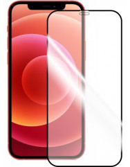 Стекло Apple iPhone 12 Mini (5D Black) 0.33mm