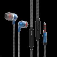 Вакуумные наушники-гарнитура INAVI D11 (синий)