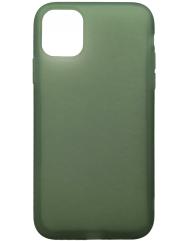 Чохол силіконовий Latex матовий iPhone 11 Pro (хакі)