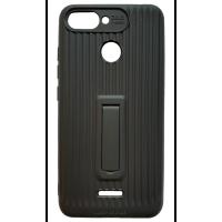 Чехол Luggage с подставкой Xiaomi Redmi 6 (Black)