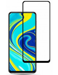 Скло Xiaomi Redmi Note 9 Pro / 9s (5D Black) 0.33mm