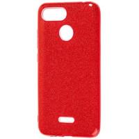 Силиконовый чехол Shine Xiaomi Redmi 6 (красный)