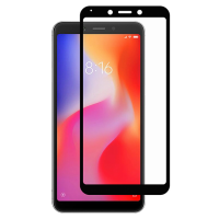 Стекло Xiaomi Redmi 6/6a (5D Black) 0.33mm