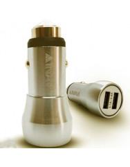 АЗУ Inavi CM-09 2USB 3.1A (Gold) + кабель Micro-USB