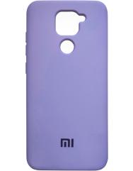 Чехол Silicone Case Xiaomi Redmi Note 9 (лавандовый)
