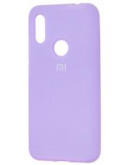 Чехол Silicone Case Xiaomi Redmi 7 (лавандовый)