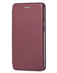 Книга Premium Samsung Galaxy A40 (бордовый)