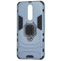 Чехол Armor + подставка Xiaomi Redmi 8a (серый)