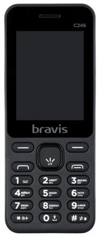 Bravis C246 Fruit Dual Sim (Black)