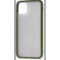 Чехол LikGus Maxshield матовый iPhone 11 Pro (хаки)