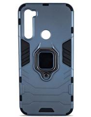Чехол Armor + подставка Xiaomi Redmi Note 8 Pro (серый)