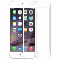 Стекло бронированноеIphone 6s (5D White)